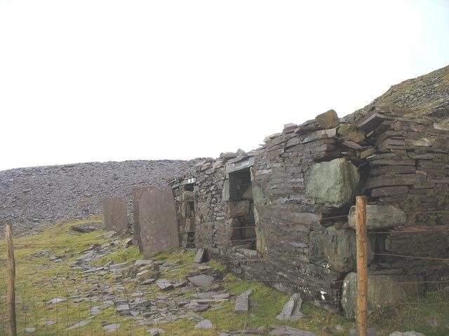 Closeup of Barics Aberdaron Barracks