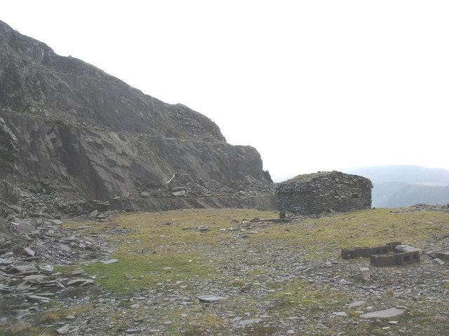 Blast Shelter at Ponc Aberdaron