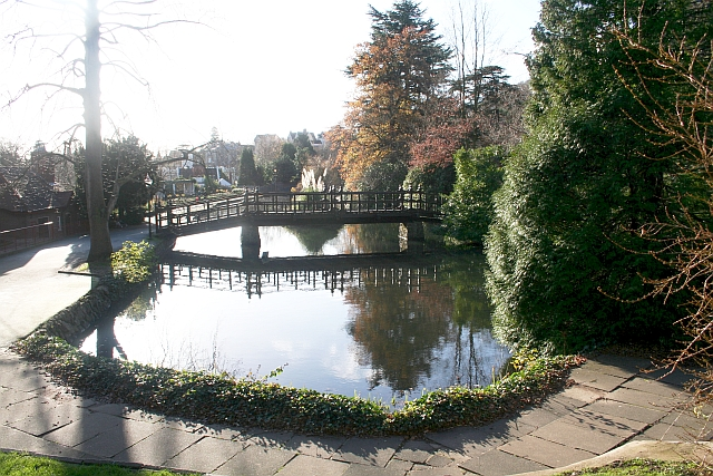 The Swan Pool, Priory Park