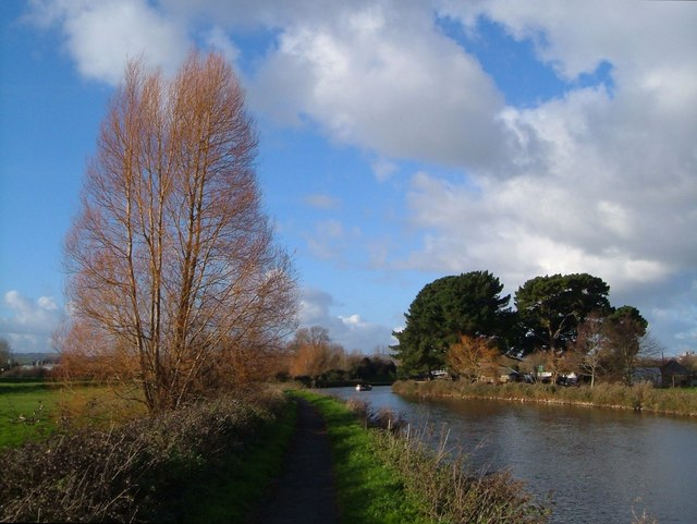 Exeter Canal near Double Locks