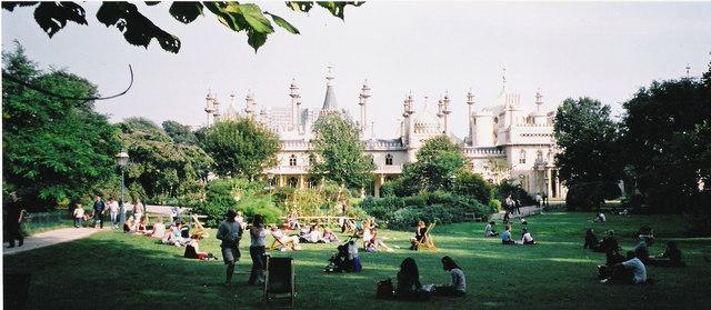 Brighton Pavilion and gardens