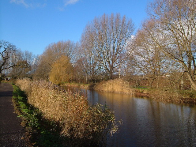 Exeter Canal below Countess Wear