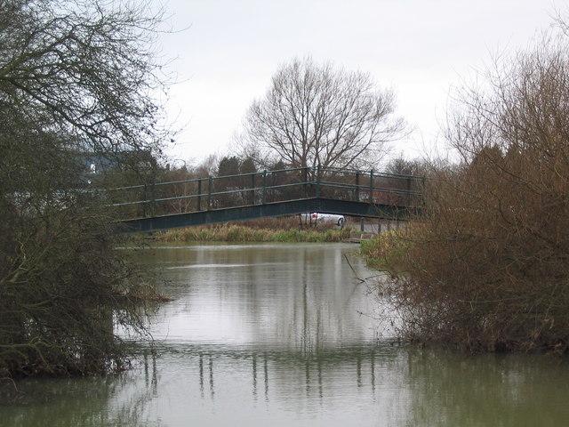 Footbridge over the River Eye, Melton Mowbray