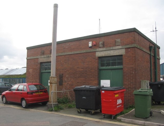 Teignmouth waste water pumping station