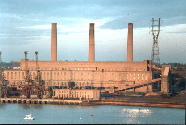 The Old Ipswich Power Station 1984