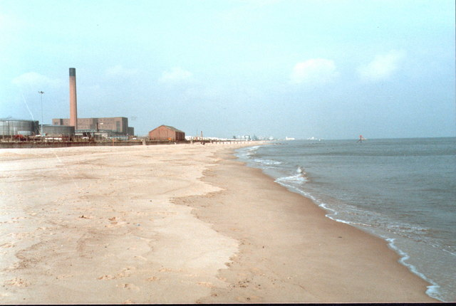 The Old Great Yarmouth Power Station 1985