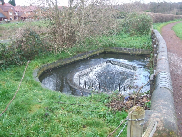 Canalside Overflow at Bumblehole Lock