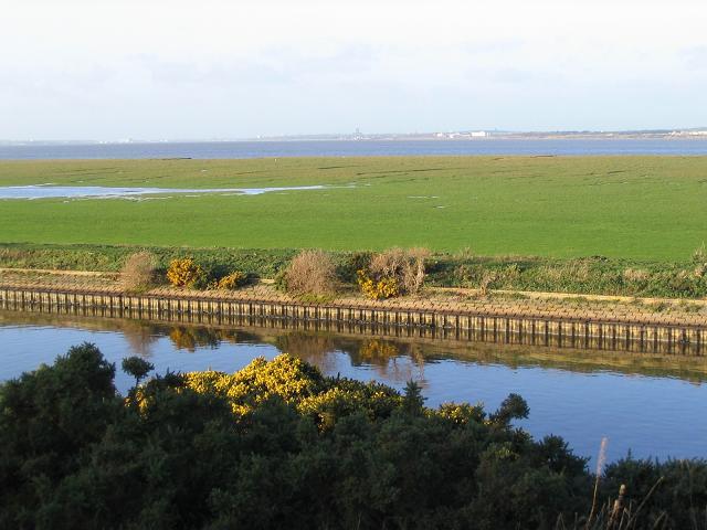 Manchester ship canal near Ince