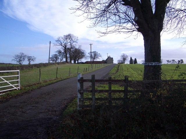 New Hay Farm & Entranceway near Yardley Hastings