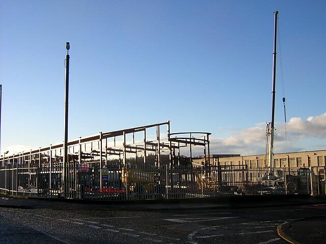 Construction Work at Shortlees School