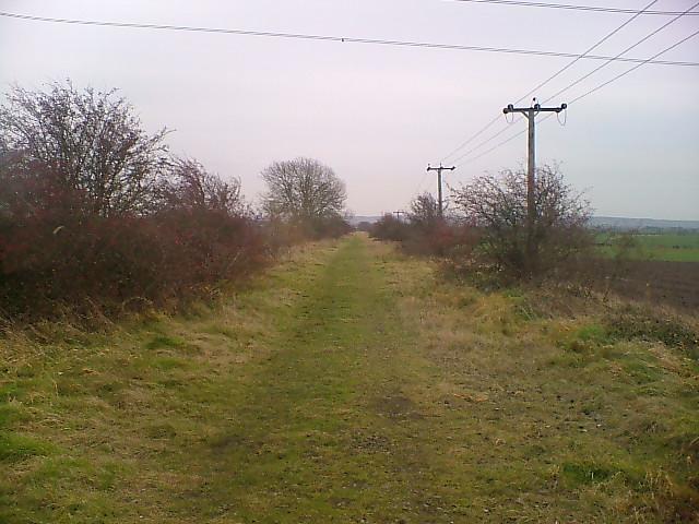Old railway line.
