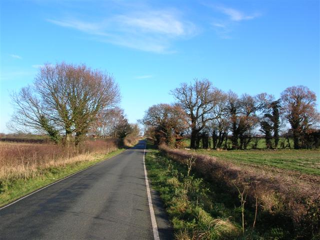 Roman road to Copmanthorpe