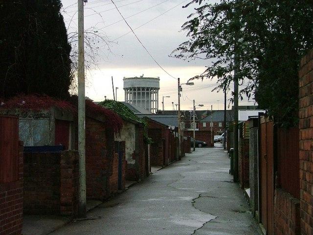 Back Alley, Adeline Street