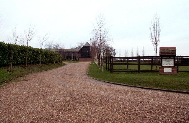 Entrance to Wards Farm