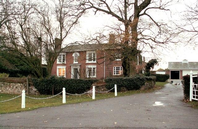 The farmhouse at Boultwoods Farm