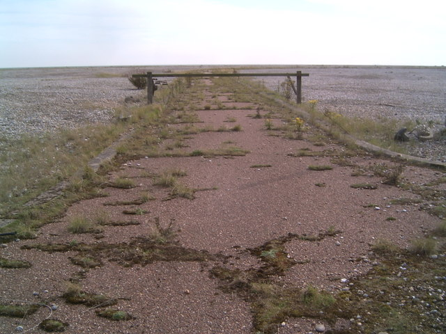 'End Of The Road' Orford Ness
