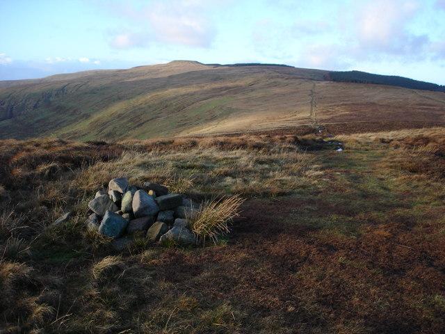 View north from Pen Twyn Mawr