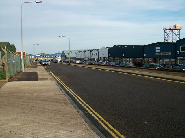 Harfreys Industrial Estate, Great Yarmouth.