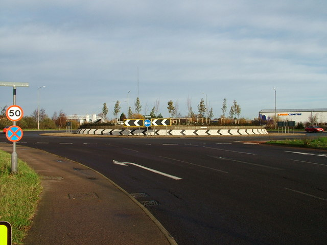 The Harfreys Roundabout, Great Yarmouth.