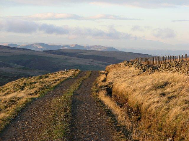 Road off Rawburn Head