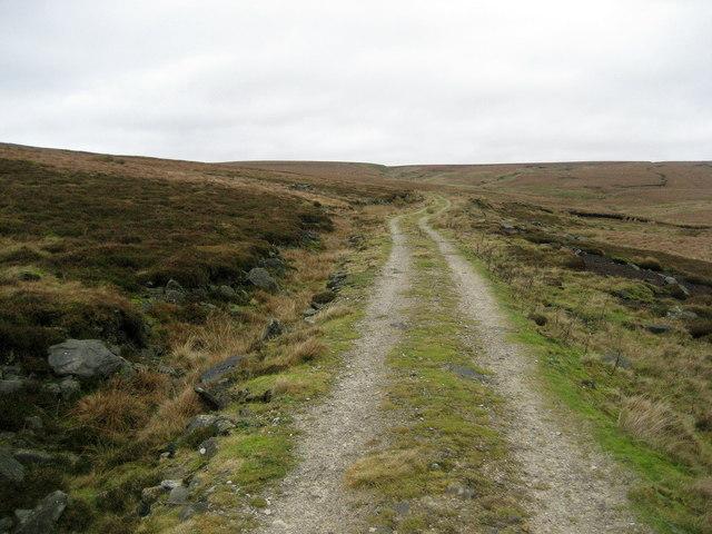 Track on Grassington Moor