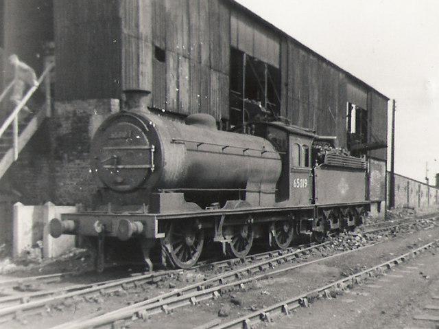 South Blyth locomotive depot.