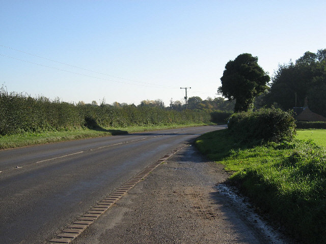 The Road To Scoulton And Higham