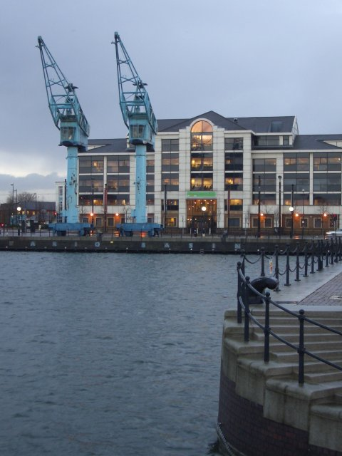 Cranes, Salford Quays