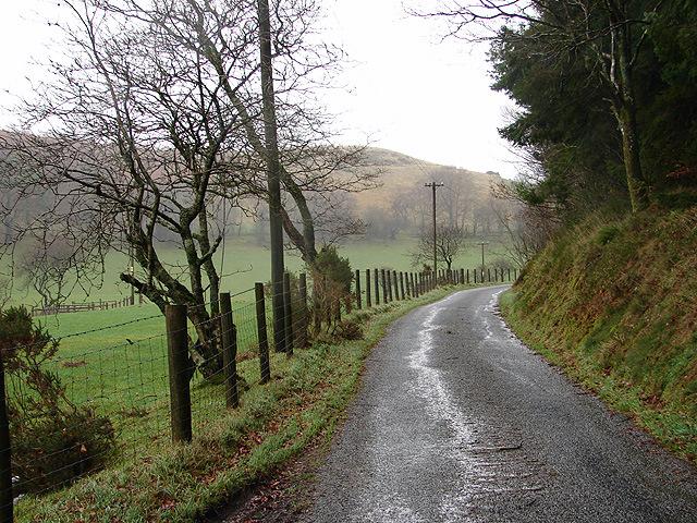 Lane at Blaen y Waun