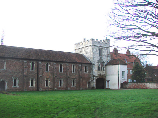 The remains of Cawood Castle