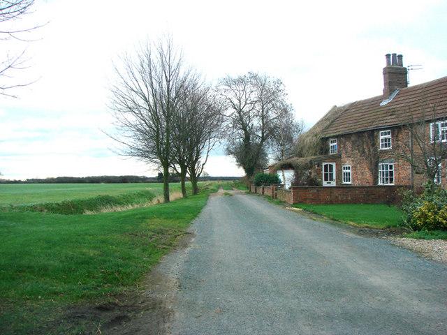 Sweeming Lane, Little Fenton