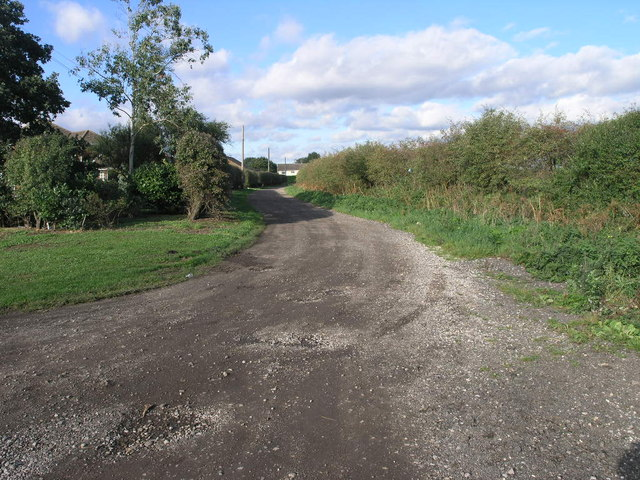 Bridleway to the Bank