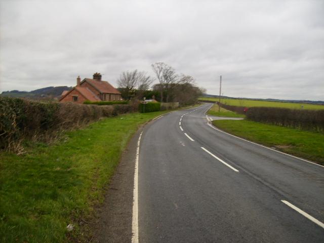 The B1257 at Leysthorpe