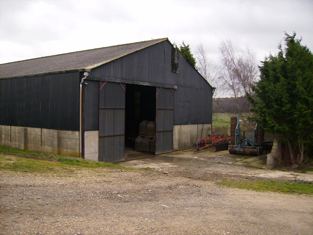 Agricultural building adjacent to the B1363