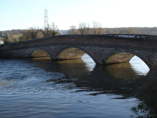 Bridge over the River Avon near Breamore