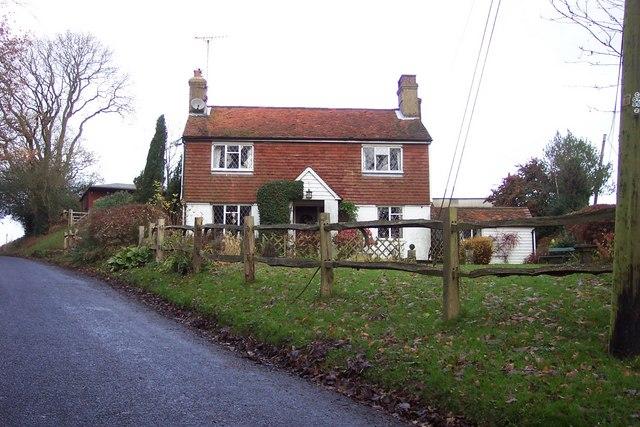 Peg-tile cottage in the High Weald