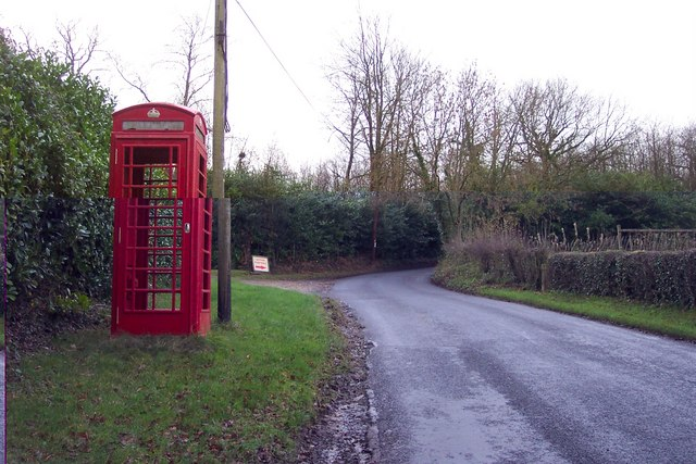 Disused phone box