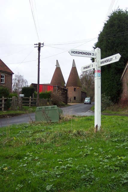 Signpost and Oast