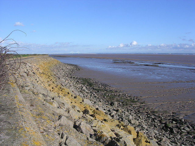 The Severn Estuary at low water