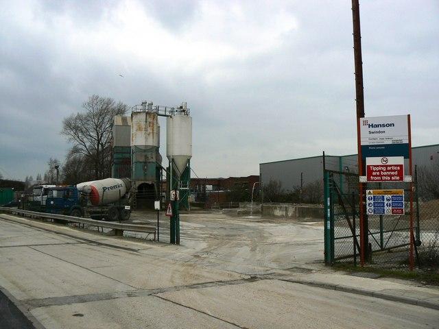 Hanson Premix Plant, Bramble Close, Swindon (concrete batching plant)