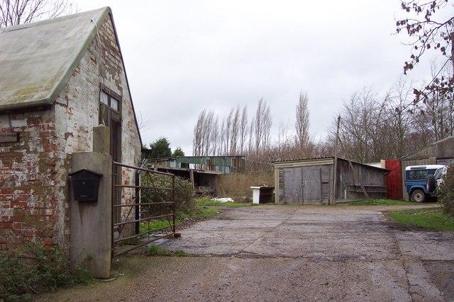 Farmyard at Flishinghurst