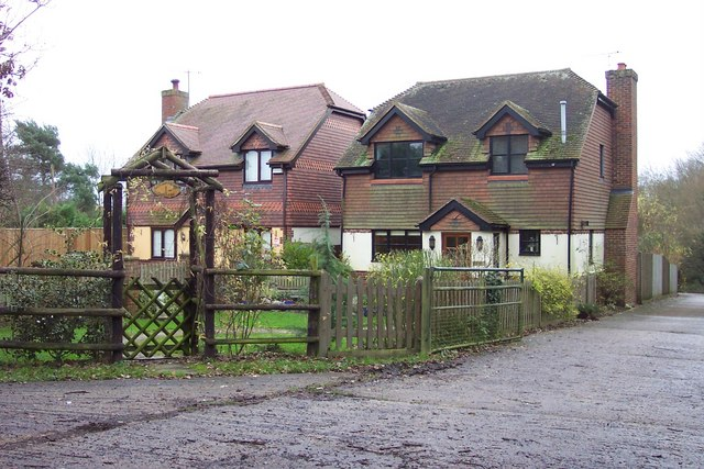 A pair of 'modern' country cottages