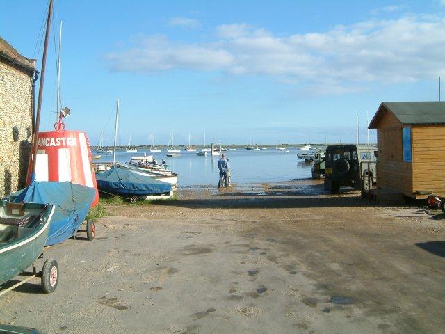 Brancaster Staithe harbour entrance