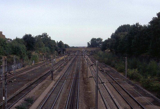 Main Eastern Line at Finsbury Park