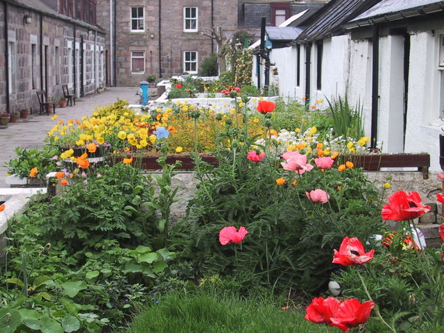 Pilot Square in Footdee
