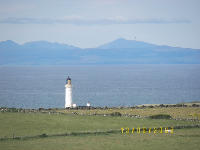 Corsewall Lighthouse from Cairnside Farm