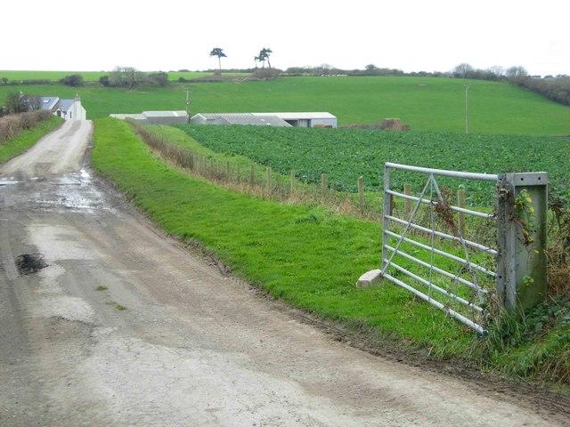 Farmland south of Llantwit Major