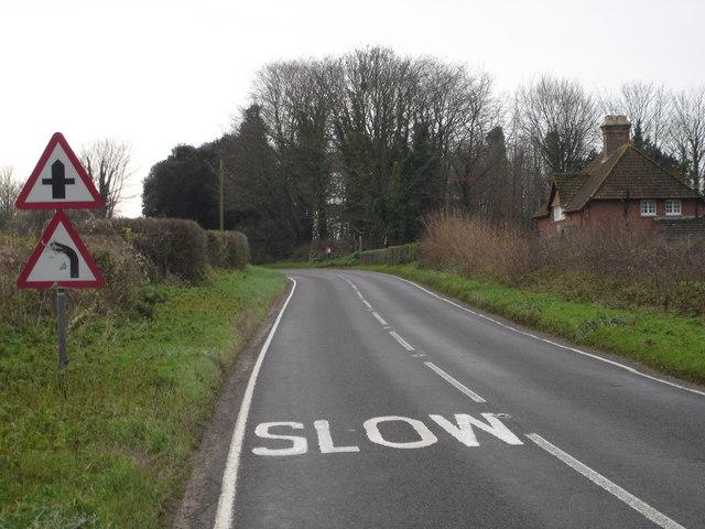 B3078 to Wimborne Minster