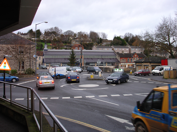 Radstock roundabouts
