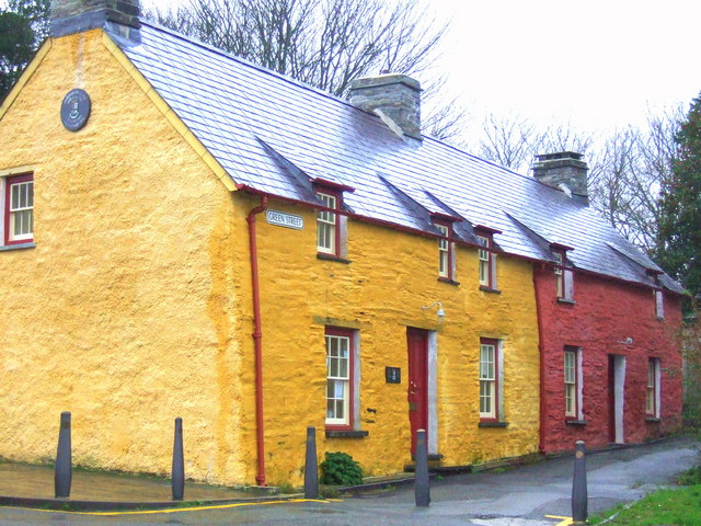 Green Street cottages, Aberteifi/Cardigan